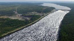 Уровень воды вХабаровске превысил опасную отметку, авода продолжает прибывать