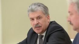 Глава ЦИК оГрудинине иКПРФ: «Надо или крест снять, или еще что-то сделать»