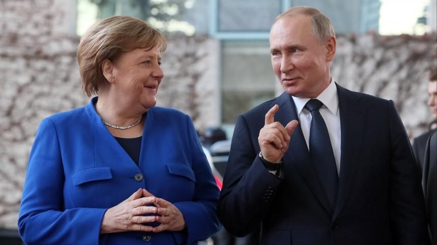 Путин встретится сМеркель перед выборами нового канцлера Германии