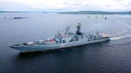 Северный флот следит заманеврами НАТО вНорвежском море сучастием эсминца США