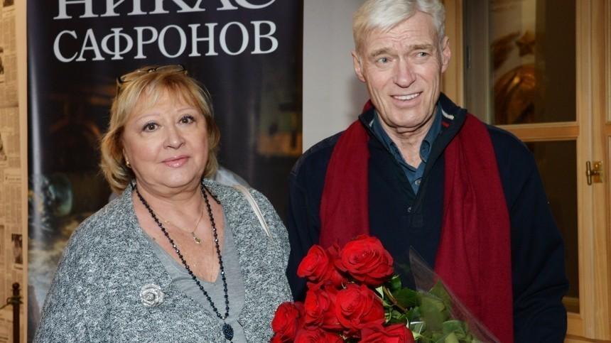Жена Бориса Щербакова рассказала осостоянии актера после госпитализации