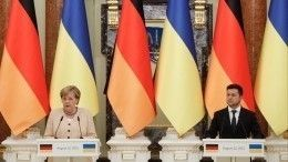 Меркель призвала провести встречу в«нормандском формате» вближайшее время