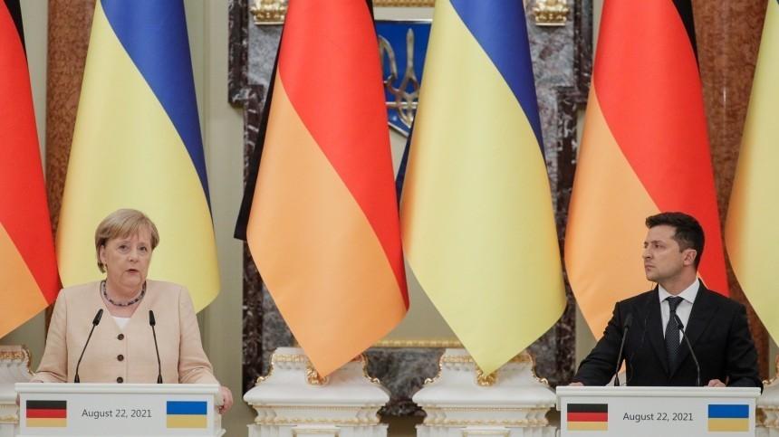 Слишком простой искромный прием Меркель наУкраине удивил Германию