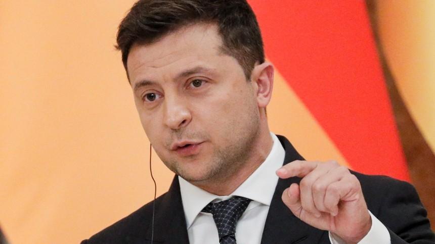 Зеленский объявил озапуске «обратного отсчета» довозвращения Крыма Украине
