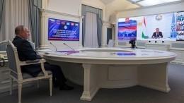 Путин призвал координировать подходы поурегулированию ситуации вАфганистане
