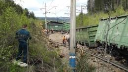 ВКузбассе перевернулся направлявшийся вшахту «Южная» состав суглем