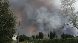 Сайлент Хилл отдыхает! Лесной пожар вплотную подошел ктрассе Пермь— Екатеринбург