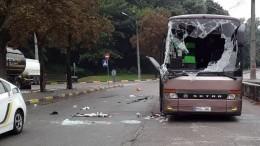 Переполненный автобус Кишинев— Москва перевернулся вКиеве