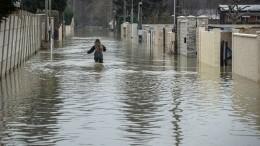 Юго-восток Франции уходит под воду из-за сильнейшего шторма