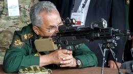 Шойгу осмотрел новинки вооружений нафоруме «Армия-2021»