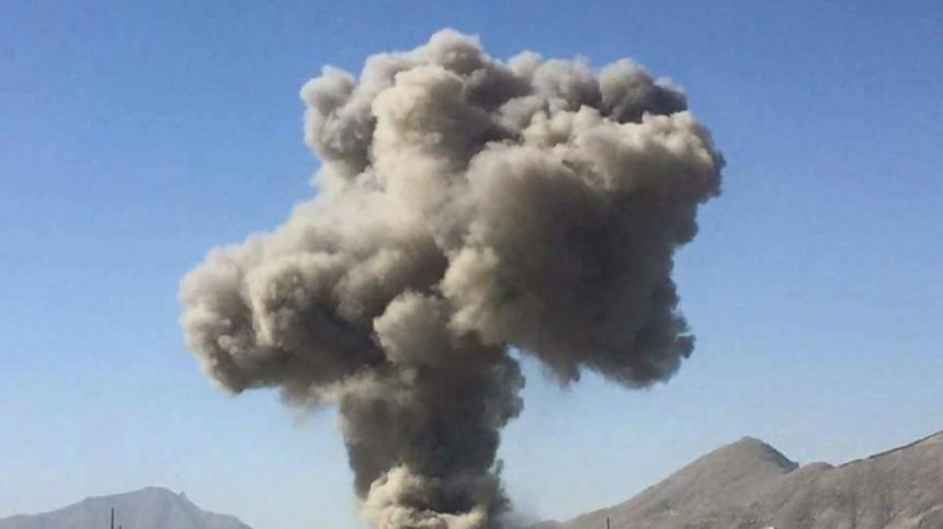 Мощный взрыв прогремел вКабуле