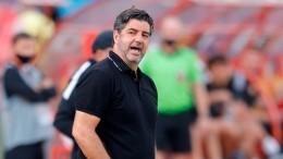 Главный тренер «Спартака» отказался уходить вотставку: «Просто так несдамся!»