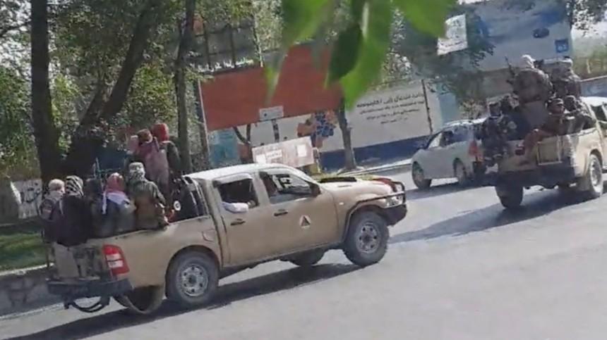 Военные США произвели серию взрывов вКабуле после терактов
