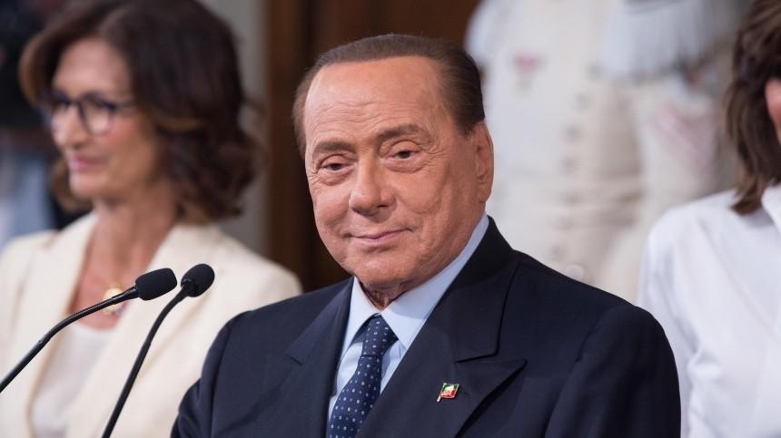 Сильвио Берлускони госпитализирован вбольницу Милана