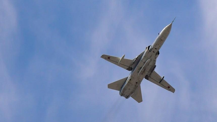 Бомбардировщик Су-24 упал вПермском крае