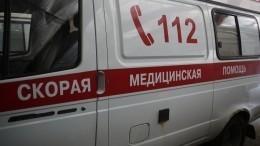 Момент наезда иномарки наженщину вцентре Москвы попал навидео