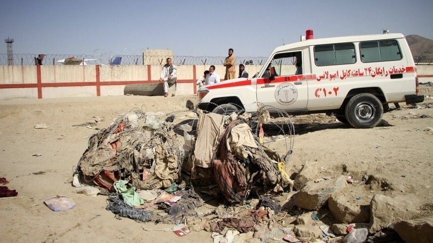 США нанесли воздушный удар вАфганистане после серии взрывов вКабуле