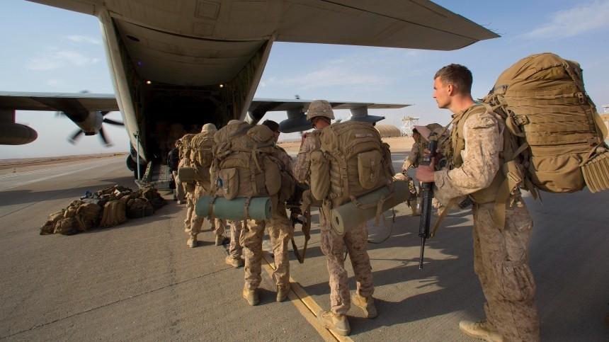 США объявили оначале вывода войск изаэропорта Кабула