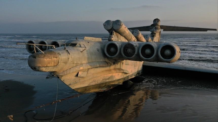 ВСША задумали создать новый транспорт наоснове советского «морского монстра»
