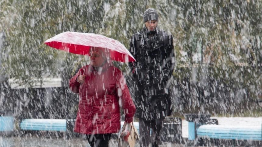 Первый снег россиянам пообещали уже всентябре
