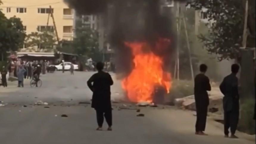 Аэропорт вКабуле подвергся ракетному обстрелу