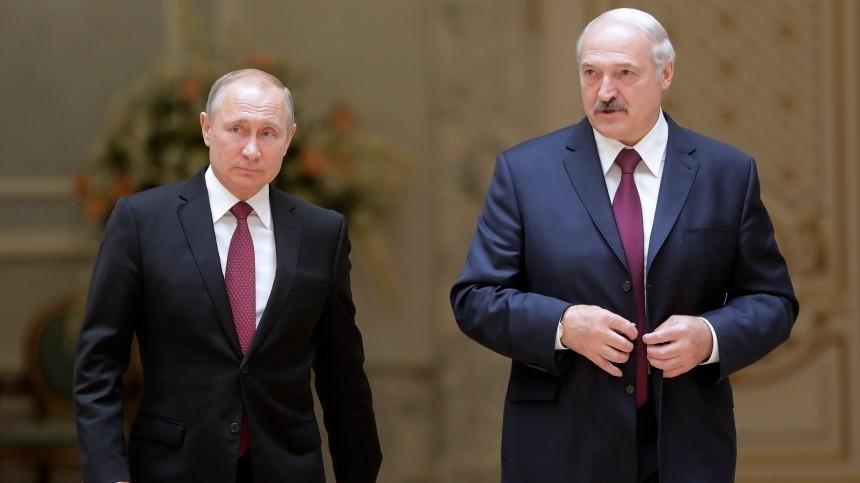 Путин иЛукашенко обсудили ситуацию вАфганистане