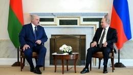 Песков: переговоры Путина иЛукашенко пройдут впервой декаде сентября