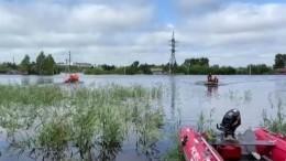ВБурятии растет масштаб подтоплений из-за разлива реки Селенга