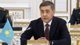 Министр обороны Казахстана ушел вотставку после взрывов наскладе боеприпасов