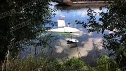 Крушение гидросамолета вСаратовской области попало навидео