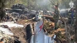 Минпромторг опроверг опубликованные вСМИ данные опричинах крушения Ил-112В
