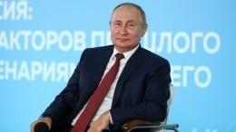 Школьник поправил Путина вразговоре оСеверной войне