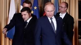 Песков рассказал оперспективах встречи Путина иЗеленского вэтом году