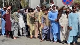 Люди гибнут вдавке награнице Афганистана впопытках покинуть страну