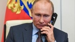 Путин рассказал, естьли унего мобильный телефон