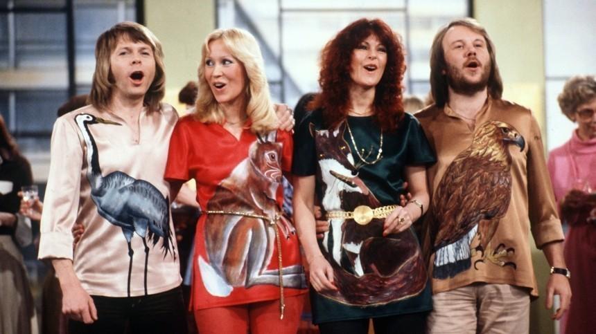 Как выглядят участники группы ABBA спустя 40лет?