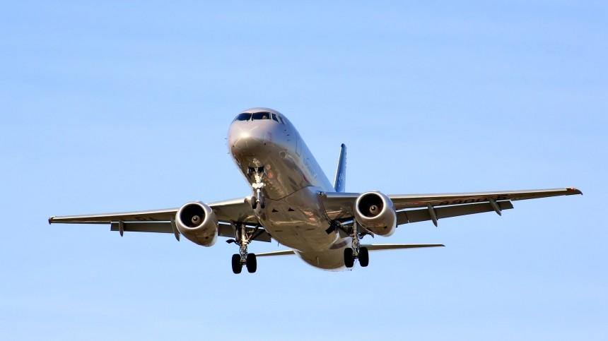 Вылетевший изМосквы вБелгород SSJ подал сигнал тревоги