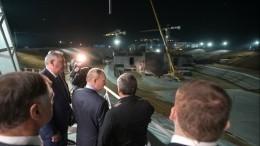 Путин осмотрел командный пункт истартовый комплекс «Ангара» накосмодроме Восточный