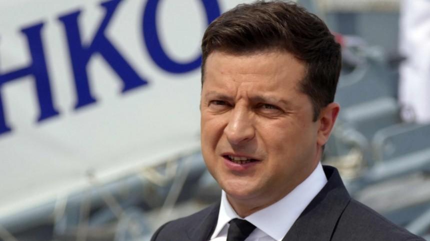 Зеленский тайно презентовал план трансформации Украины вСША иполучил «оплеуху»