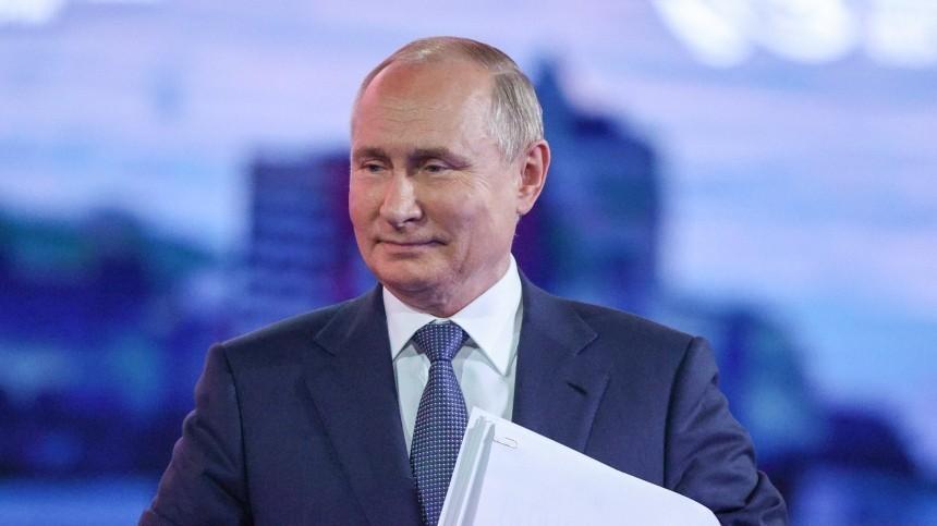Путин поздравил спраздником работников иветеранов нефтегазовой промышленности