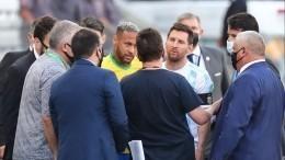 Месси назвал провокацией выход полицейских наполе вовремя матча Бразилия— Аргентина
