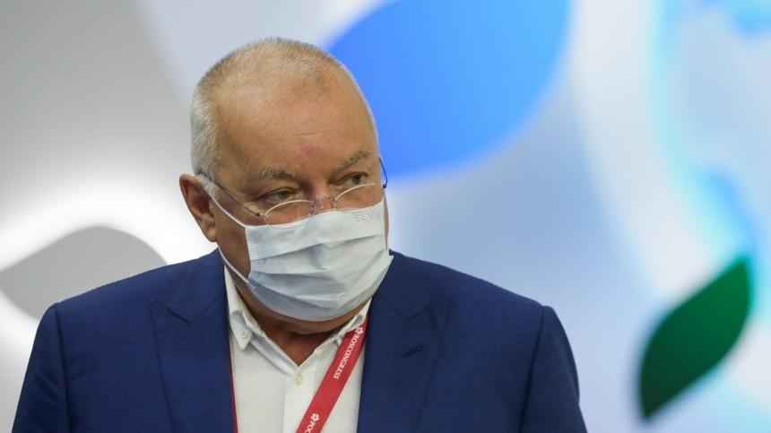 Стали известны подробности госпитализации исостояния Дмитрия Киселева