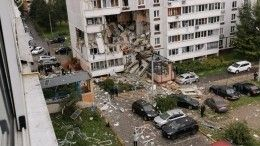 Несколько этажей обрушились вжилом доме вНогинске из-за взрыва газа