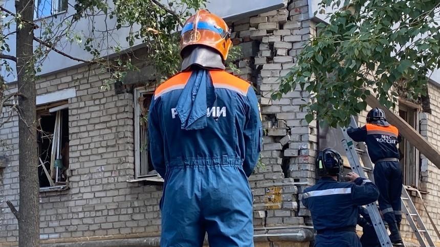 Газ взорвался вжилом доме вЕкатеринбурге