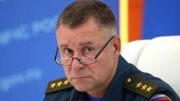 Путину доложили отрагической гибели главы МЧС Зиничева