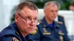 Спецрейс стелом погибшего главы МЧС Зиничева прибыл вМоскву