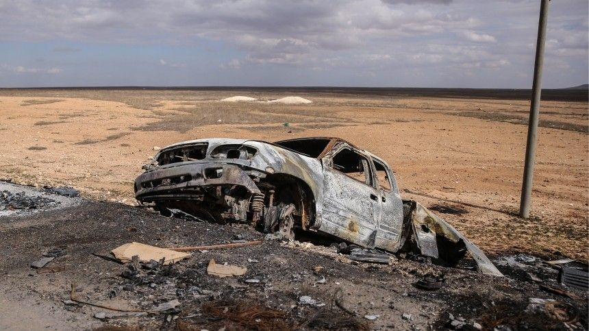 Семеро сирийских военных погибли при взрыве автомобиля впровинции Дераа