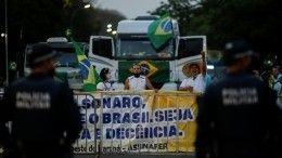 ВБразилии собрались гигантские пробки из-за сторонников президента