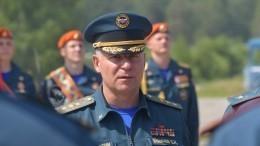 Путин присвоил главе МЧС Евгению Зиничеву звание Героя России посмертно