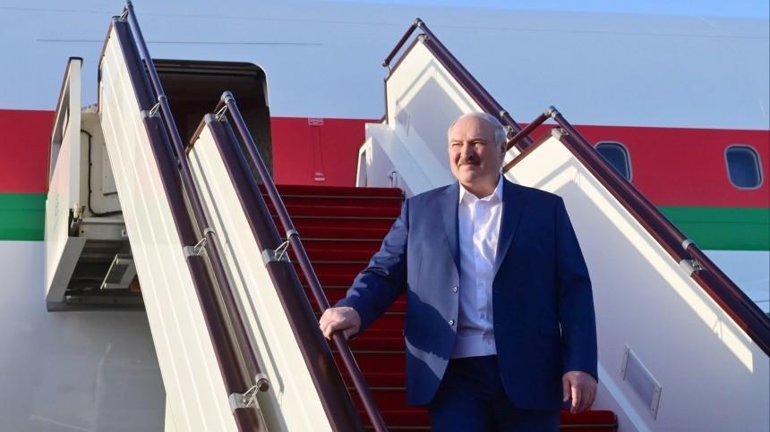Лукашенко вылетел изМинска вМоскву напереговоры сПутиным
